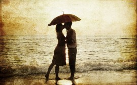 26122-couple-under-an-umbrella-at-the-beach-1920x1200-digital-art-wallpaper