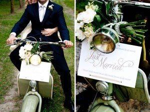 wedding-scooter